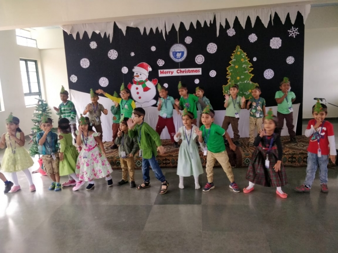 Pre Primary Christmas Celebration photographs are uploaded