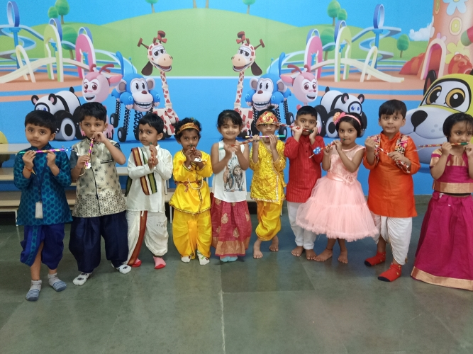 Pre-Primary Janmashtami Celebration