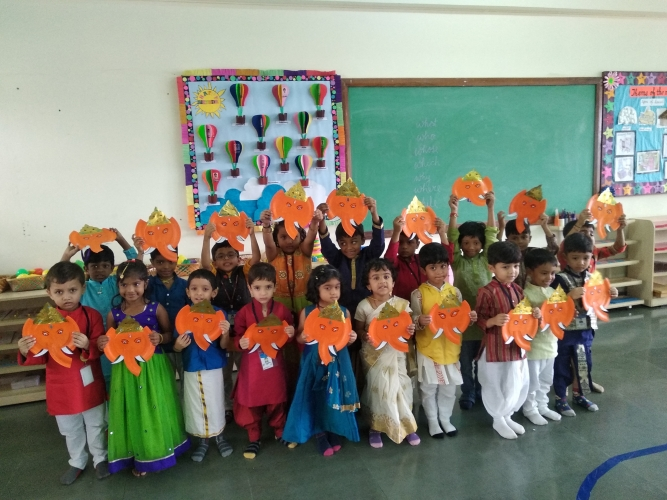 Pre-Primary Ganesh Chatuthi Celebration