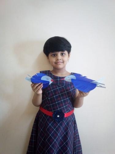 Montessori-Blue Day Activity