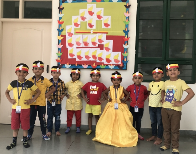 Pre Primary - Rajyotsava Celebration