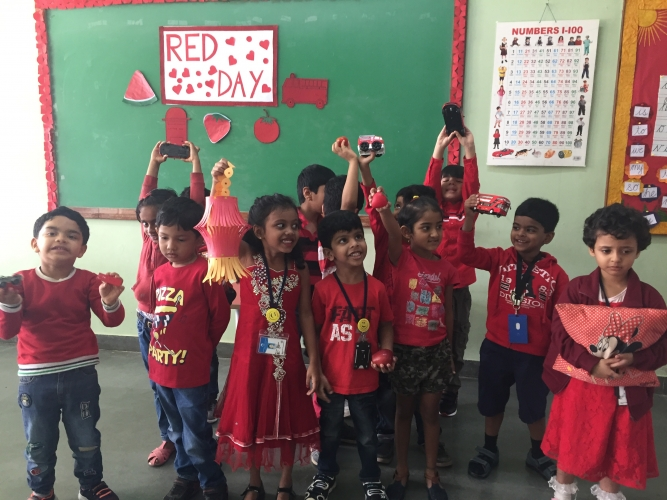 Pre Primary - Red Day Celebration
