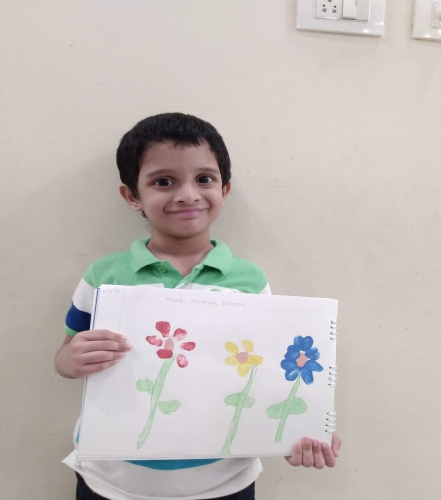 Montessori-Thumb Print Activity