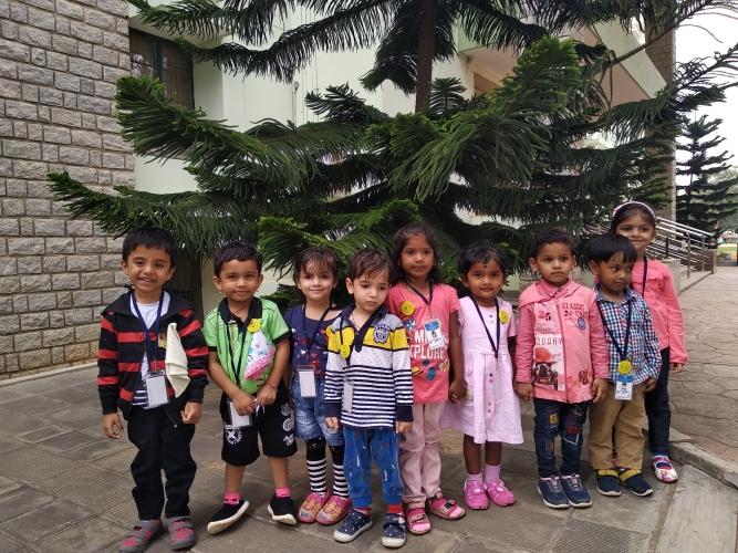 Pre Primary Montessori Freshers Field Trip
