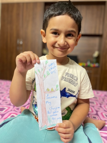 LKG-Father's Day Activity
