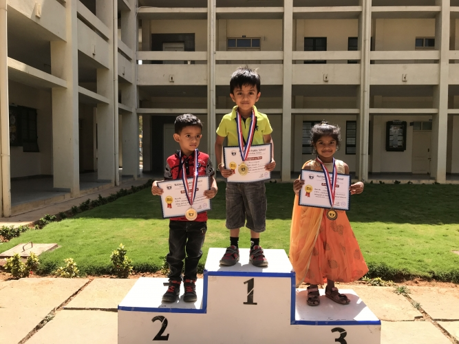 Pre Primary Annual Sports Meet- Prize Distribution
