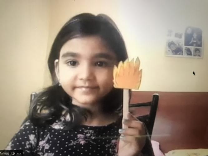 Montessori Activity-Olympic Torch Photos