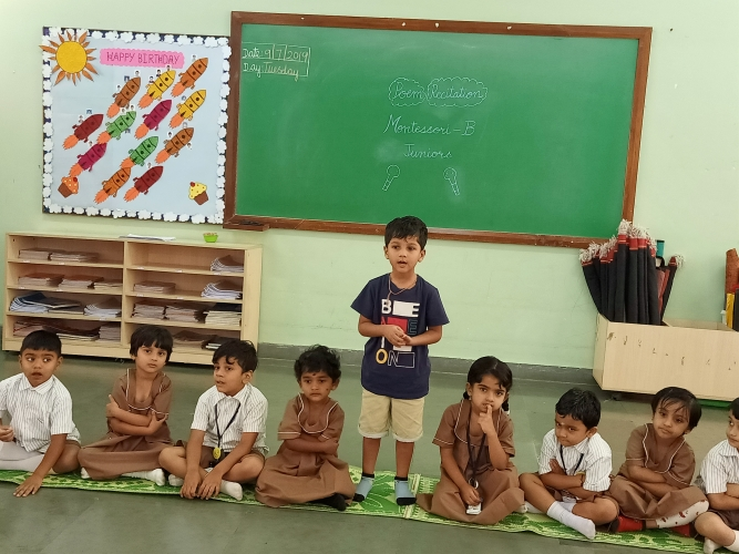 Pre Primary - Poem Recitation