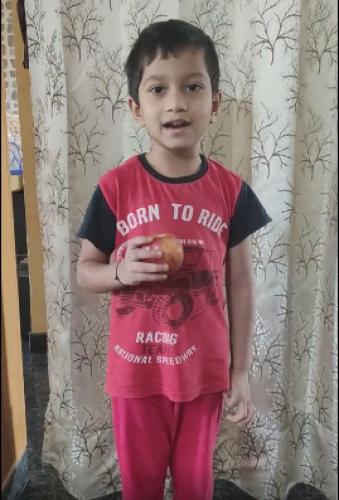 Montessori Red Day - Vivaan Ashwin