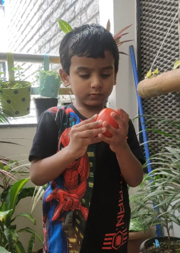 Montessori Red Day - Daksh Barik