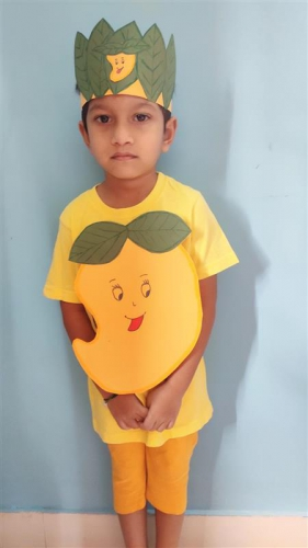 Montessori A Poem Recitation - Vivaan