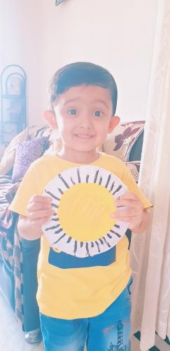 LKG-Yellow day Celebration-Avyukth