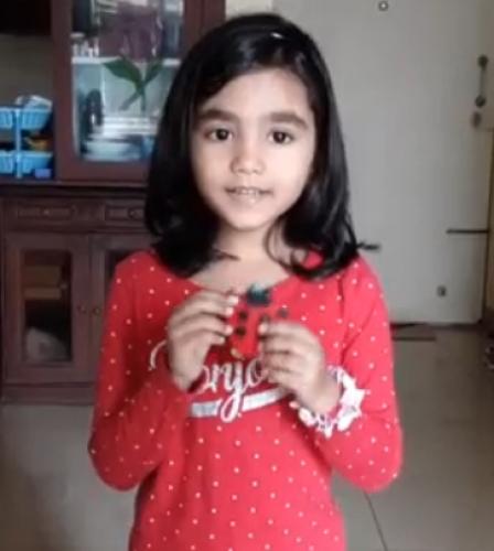 Montessori Red Day - Aprameya