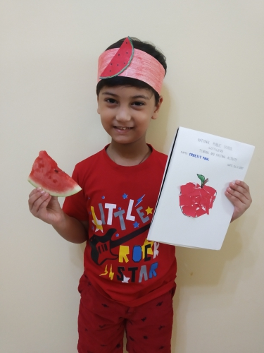 Montessori Red Day - Sreejit