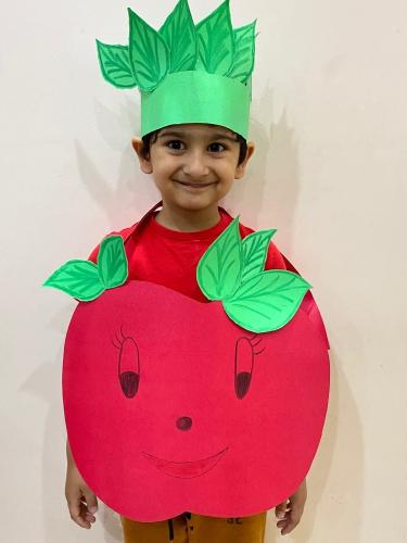 LKG-Fancy dress -Fruits and Vegetables-Rudransh