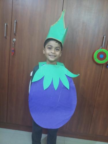 LKG-Fancy dress -Fruits and Vegetables-Samrudh