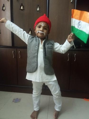 UKG Independence Day Celebration-Shivam