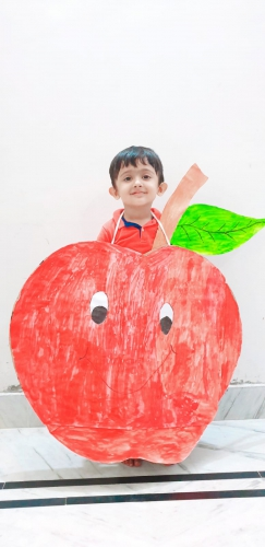 LKG-Fancy dress -Fruits and Vegetables-Avyukth