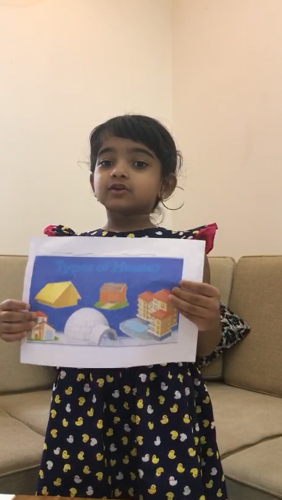Montessori A Show and Tell - Aagna