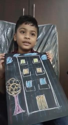 Kindergarten- Speech on different Types of Houses-Samrudh