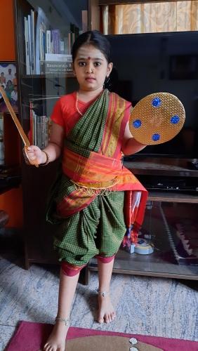 Montessori-Independence Day-Seniors-Nandini