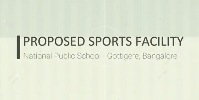 New Sports Ground at NPS Gottigere