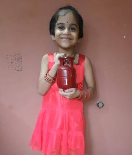 Montessori Red Day - Ishita