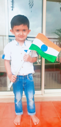 LKG Independence Day Celebration-Avyukth