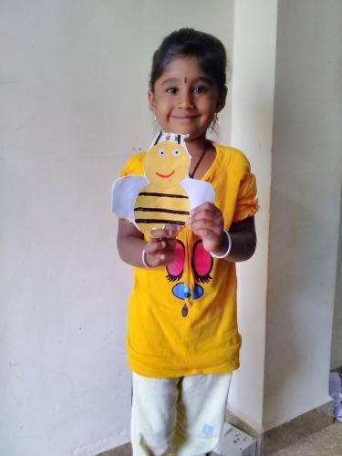LKG-Yellow day Celebration-Aishwarya